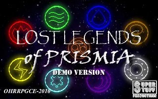 Lost Legends of Prismia Demo