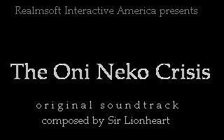 The Oni Neko Crisis (Original Soundtrack)