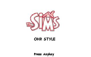 OHR Style Sims(Updated 03/08/03)