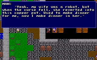 Wait, you married a robot?