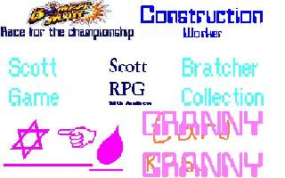 Scott Bratcher Game Collection
