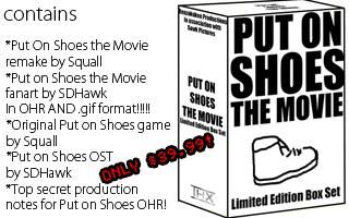Put on Shoes - Limited Edition Box Set *SOLD OUT*