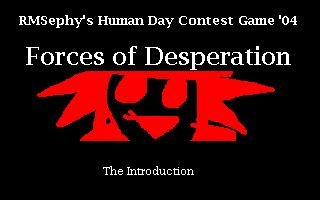 z(04/12) Forces of Desperation