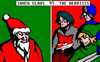 Santa Claus vs. The Heroists